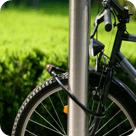 Fahrradschloss zur Diebstahlsicherung